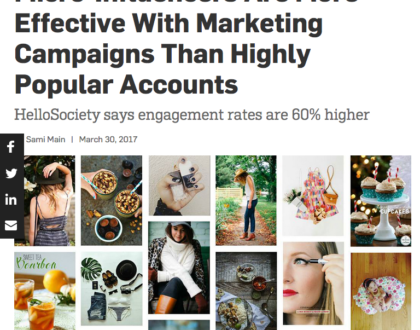 Influencer marketing is an important part of digital marketing and PR for brands.